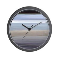 Pompey Painted Beach Wall Clock