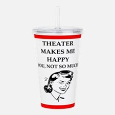 theater Acrylic Double-wall Tumbler