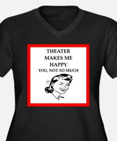theater Plus Size T-Shirt