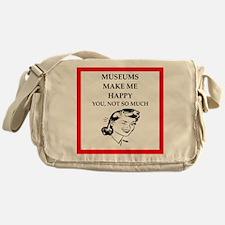 museums Messenger Bag