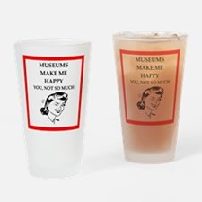 museums Drinking Glass