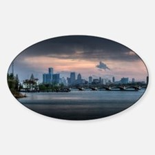 Detroit HDR Skyline Decal