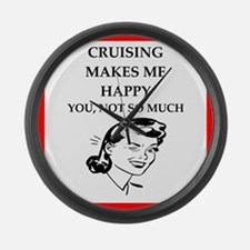 cruise Large Wall Clock