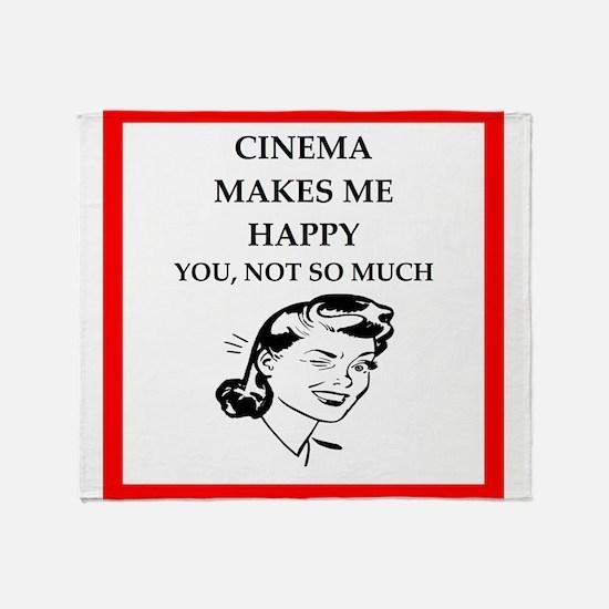 cinema Throw Blanket