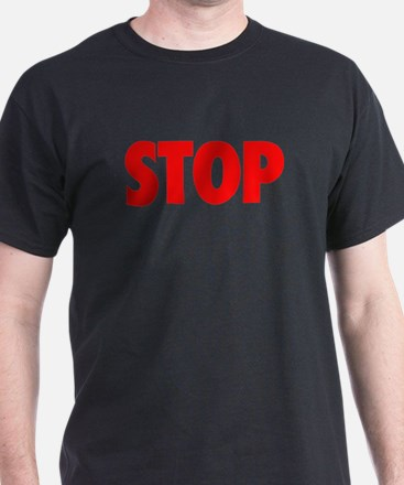 STOP red T-Shirt