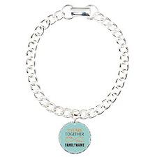 2nd Anniversary Infinity Charm Bracelet, One Charm