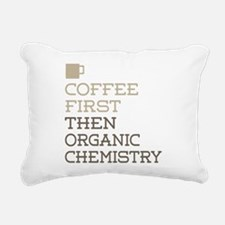 Coffee Then Organic Chem Rectangular Canvas Pillow