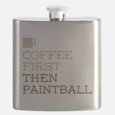 Coffee Then Paintball Flask