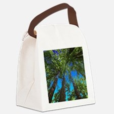 Muir Woods treetops Canvas Lunch Bag