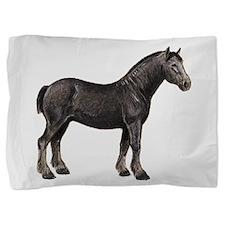 percheron horse Pillow Sham
