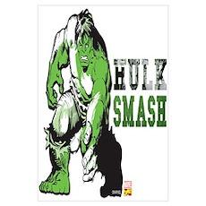Hulk Color Splash Wall Art Poster