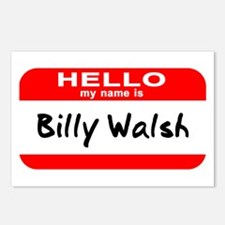 Hello My Name Is Billy Walsh Postcards (Package of