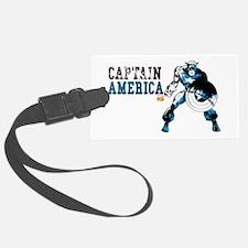 Captain America Color Splash Luggage Tag