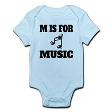 M Is For Music Body Suit