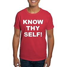 Know Thy Self! Men's T-Shirt