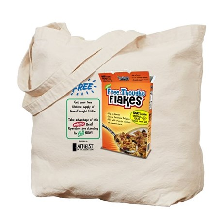 FreeThought Flakes Tote Bag