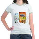 FreeThought Flakes Jr. Ringer T-Shirt