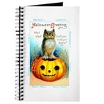 Halloween Owl & Pumpkin Journal