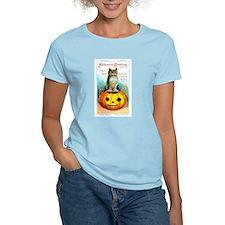 Halloween Owl & Pumpkin T-Shirt