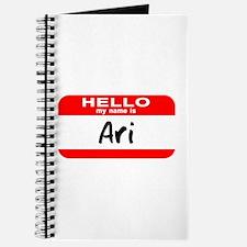 Hello My Name is Ari Journal