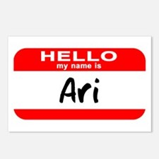 Hello My Name is Ari Postcards (Package of 8)