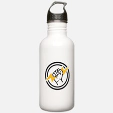 Flash hand electrician Water Bottle