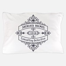 Consulting Detective (blue) Pillow Case