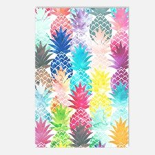 Hawaiian Pineapple Patter Postcards (Package of 8)