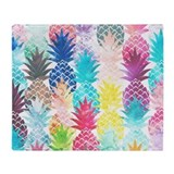 Pineapple Fleece Blankets