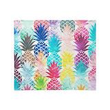 Pineapple Fleece Blankets
