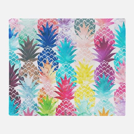 Hawaiian Pineapple Pattern Tropical