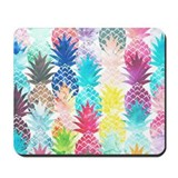 Tropical pineapples Classic Mousepad