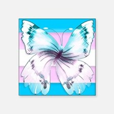 transgender butterfly of transition Sticker