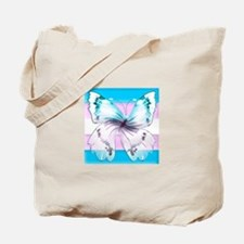 transgender butterfly of transition Tote Bag