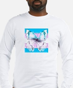 transgender butterfly of transition Long Sleeve T-