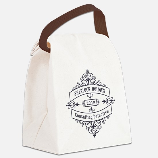 Consulting Detective (blue) Canvas Lunch Bag