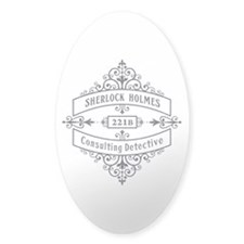 Consulting Detective (blue) Decal