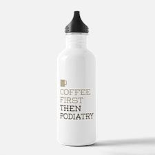 Coffee Then Podiatry Water Bottle