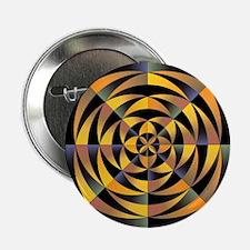 "Tigerlike geometric design 2.25"" Button"