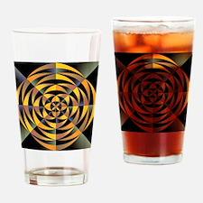 Tigerlike geometric design Drinking Glass
