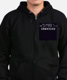 Unique Broadway candles Zip Hoodie