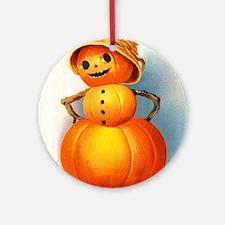 Halloween Pumpkins Ornament (Round)