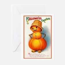 Halloween Pumpkins Greeting Cards (Pk of 10)