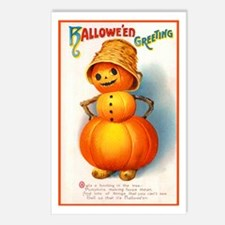 Halloween Pumpkins Postcards (Package of 8)