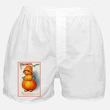 Halloween Pumpkins Boxer Shorts