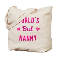 World's Best Nanny Tote Bag