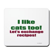 Cat Haters Mousepad