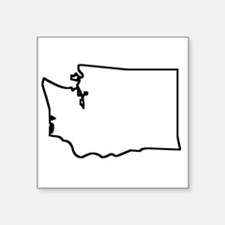Washington Outline Sticker