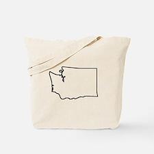 Washington Outline Tote Bag