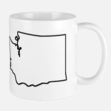 Washington Outline Mugs